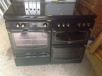 Stove Dual Fuel Range Cooker - Gas + Electric Cooker Stove