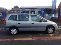 Vauxhall/Opel Zafira 1.6i 16v 2001MY Club 12 months mot drives great