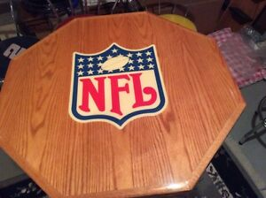 NFL and NASCAR bar tables and chairs Edmonton Edmonton Area image 6