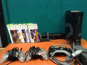 XBOX 360 - 250 GB with Kinect and Games