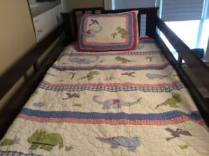 Pottery Barn Dinosaur Twin Size Bedding