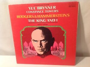 RODGERS & HAMMERSTEIN'S THE KING & I GATEFOLD VINYL LP