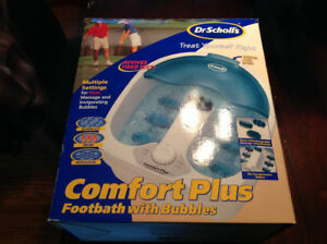 Dr Scholls comfort plus footbath