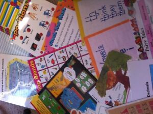 Tons of school educational teaching posters for kids.