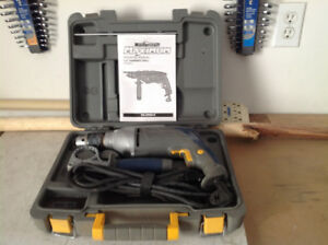 Hammerdrill - 1/2 inch Mastercraft Maximum with bits & case