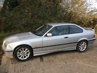 Low mileage 78,000 BMW e36 318is Coupe msport interior bargain