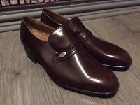 BRAND NEW CHURCH'S Men's Orion II Shoes Leather Brown Size 9 Regular Fit 90F