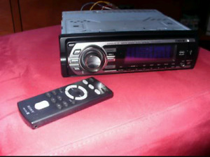 High powered sony deck usb aux in