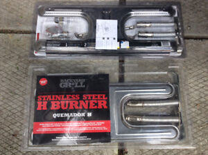 Backyard grill stainless steel H burners