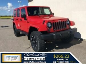 2014 Jeep Wrangler Unlimited Sahara-REMOVABLE TOP,4X4- $276.52BW