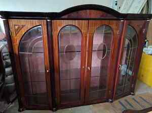 Dining set table buffet hutch beautiful paid $13k