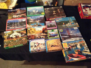 Puzzles and dvd