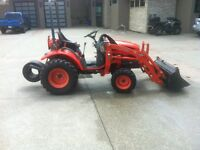 2007 Kioti CK20 Tractor with Front End Loader