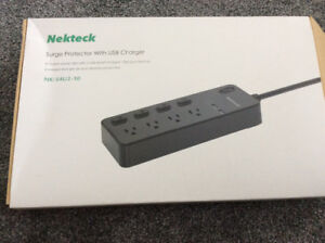 Nekteck multi-outlet and USB surge protector