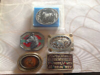 Horse Related Beltbuckles