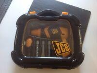 JCB drill and screw driver set