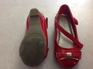 Size 7, red dress shoes