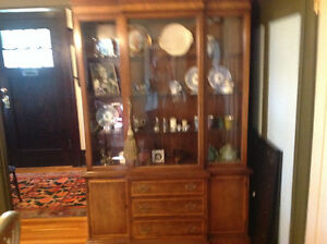 Superior Mid Century Inlaid elegant Cabinet with many uses