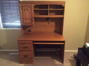 Palliser Computer Desk and Hutch