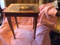 Pretty petite occasional table