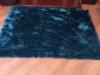 Next teal sparkle rug