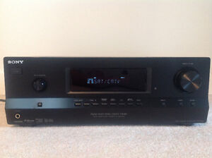Sony Home Theatre Receiver and surround sound speakers