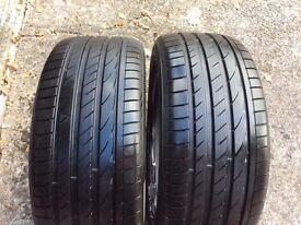 Tyres fit BMW 6 series