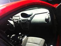 2006 Saturn ION rouge coupé