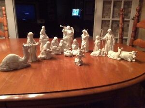 Collectors Nativity Figurines