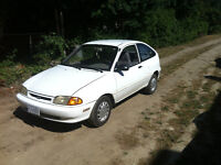 1994 Ford Aspire Coupe (2 door)