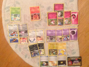 25 cards 19 pokemon all for sale only $1.00 each