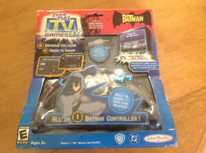 Batman Plug & Play TV Game.  Open Box Special.