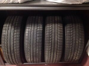 Michelin X-Ice Tires 235/70R16 and Winter Rims
