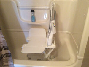 Electric bath lift
