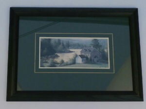 Images paysage de l'eau et maison