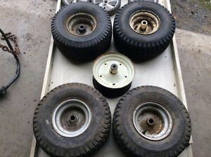 Lawn Tractor and Mower Wheels