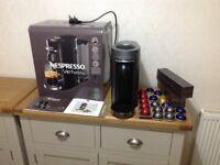 Latest Nespresso Vertuo plus espresso coffee machine + capsules