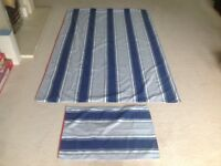 2 x Feather & Black Single Duvet Sets, Pillowcases, Fitted Sheets