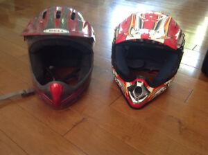 Casques 4 roues/motocross pour enfant