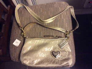 New Coach New York Script bag with tags