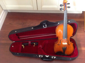 1/2 Size Staccato Violin - Excellent Condition