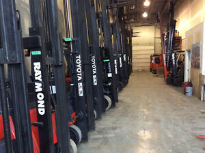 RENTAL OR LEASE FORKLIFTS ELECTRIC & PROPANE