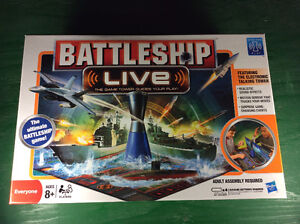 Battleship Live Talking Board Game - Excellent Condition
