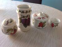 Port Meirio pottery.