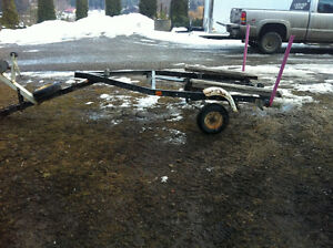 Sears Game Fisher boat Trailer