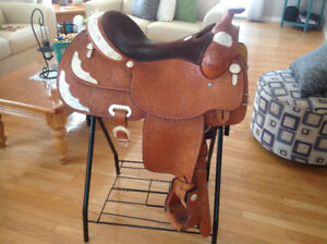"16"" Billy Cook Show Saddle"
