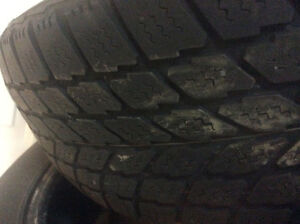 Winter Tires -Set of Four Campbell River Comox Valley Area image 4