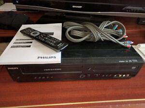 Philips VHS/DVD players/recorders
