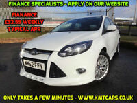 2013 Ford Focus 1.6TDCi (115ps) Zetec S - 4 Service Stamps - KMT Cars