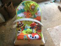 Fisher price vibrating bouncer chair